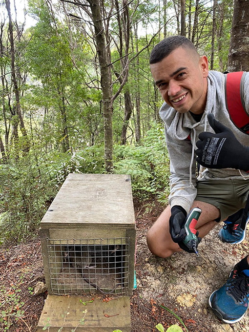 Trapping Volunteer